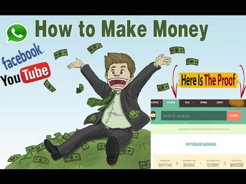 How To Make Money On Social Media || simply by sharing link ||