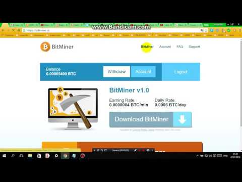 Авто bitcoin кран Mining Майнинг