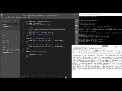 Bitcoin NodeJS Part 2  Express.flv