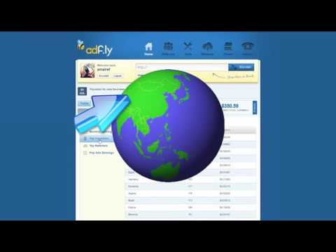 How to make money online using adfly really easy way