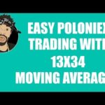 EASY POLONIEX TRADING WITH 13X34 MOVING AVERAGES!