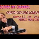 SCAM ALERT(CRYPTO-CITY.ORG) SCAM PROOF URDU/HINDI( MUST WATCH)