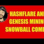 HASHFLARE AND GENESIS MINING SNOWBALL COMBO