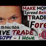 Make Money Online, Forex Trading from Home LIVE TRADE – NZDJPY  – 13 Dec 2016