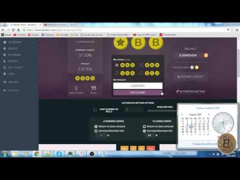 BITSLER 2 5 BTC Hack Bitcoin Autobet Strategy LOW RISK & HIGH PROFIT