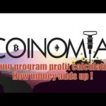 Coinomia mining program profit calculations How money adds up !