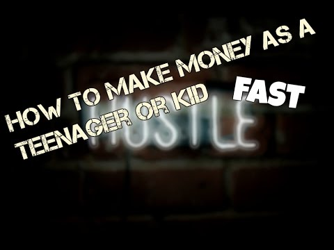 How To Make Money as a Teenager or Kid Fast 2017 (Ep. #1)