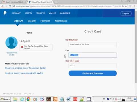 [ Scama ] PayPal Private Smart Scam Page 2017 | Undetected | Get Fullz