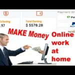 How To Make Money Online Work From Home Without Investment $3 to $100|BEST WAYS TO EARN MONEY