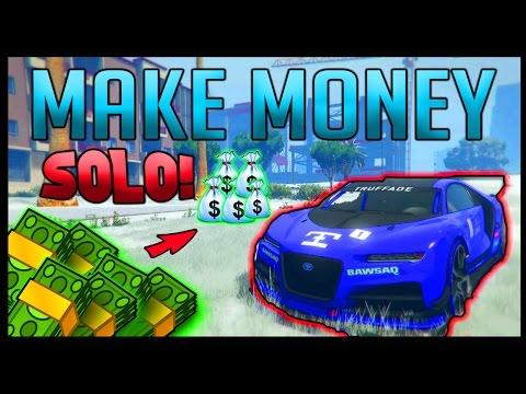 How To MAKE MONEY FAST In GTA 5 Online - GTA 5 SOLO MONEY METHOD 1.37 (GTA 5 Money Guide) [GTA V]