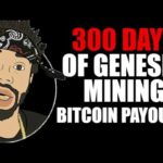300 DAYS OF GENESIS MINING BITCOIN PAYOUTS