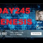 Genesis Bitcoin cloud mining Day 245 review with Rosco in Australia