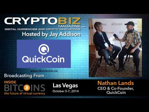 Nathan Lands CEO & Founder QuickCoin