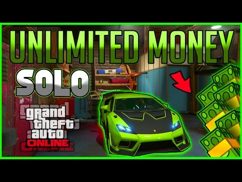 GTA 5 Online *SOLO* UNLIMITED MONEY METHOD! - 1.37/1.28