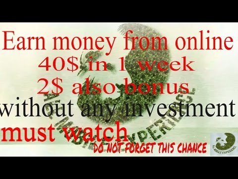 how to earn money online , at home , fast ? without any investment