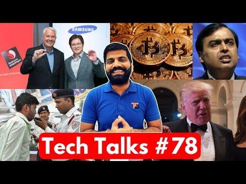 Tech Talks #78 - Whatsapp Modi Scam, Jio Happy New Year Offer, Bitcoin 1000$, BHIM App on Top