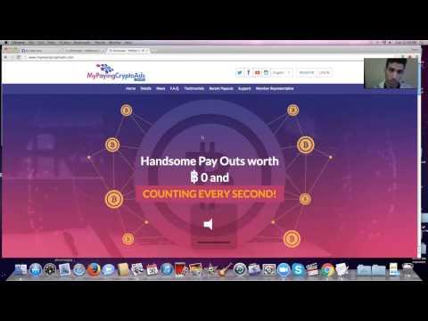 earn bitcoin 2017 with MyPayingCryptoAds Uday Nara Launches New Revshare