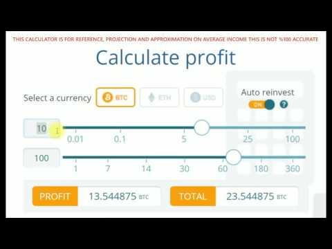 ETHTRADE Best Bitcoin Profit Calculator Tutorial 2017!   Experts   Investors   Traders