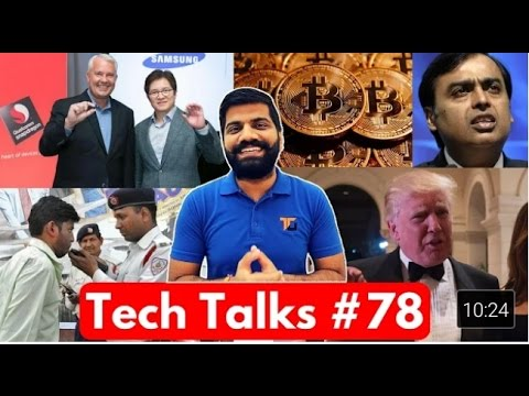 Tech Talks @78   Whatsapp Modi Scam, Jio Happy New Year Offer, Bitcoin 1000$, BH HIGH