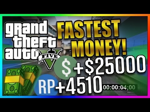 Gta 5 Online top *THREE* Fastest Missions to Make MONEY In GTA Online! ( GTA 5 Money Guide)