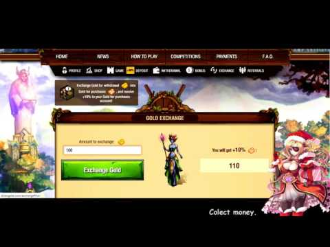 HOW to make money online !  Elven Gold   Browser Game Where You Make REAL Money  PTC Game