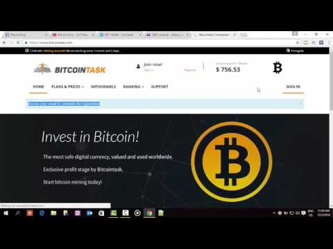 Make 1 Bitcoin Daily From BitcoinTask A Trusted Bitcoin Mining Site With Payment Proof Total Review