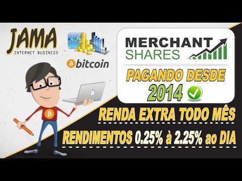 Merchant Shares - Começe a investir pela internet e tenha bons lucros em 2017