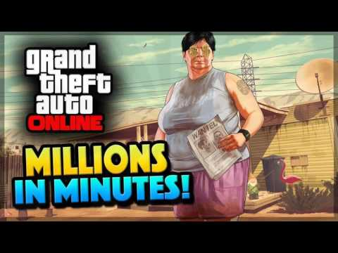 GTA 5 Online: FAST SOLO MONEY METHOD! -
