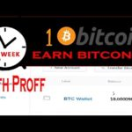 How To Earn Bitcoins Fast And Easy 1 Bitcoin Mining With Proff