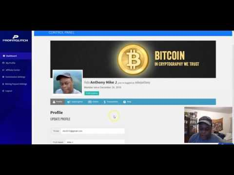First Day of Bitcoin Mining Income from Profit