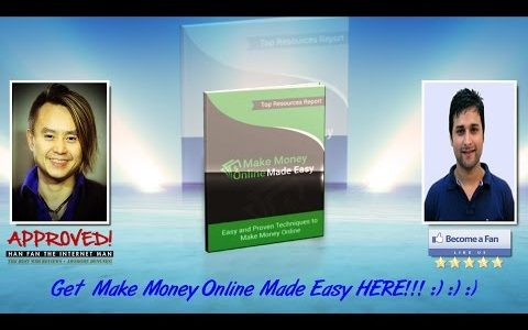 Make Money Online Made Easy Sales Video – get *BEST* Bonus and Review HERE!!!… :) :) :)
