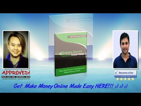 Make Money Online Made Easy Sales Video - get *BEST* Bonus and Review HERE!!!... :) :) :)