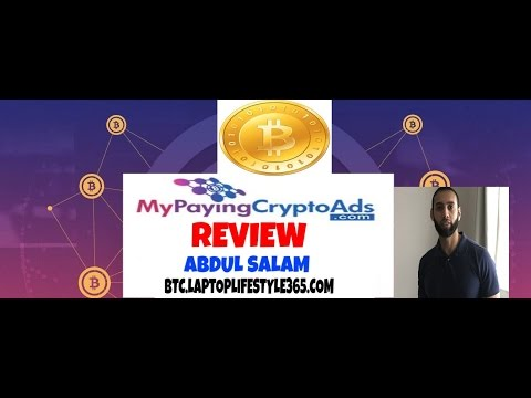 My paying crypto ads review / scam Make money online with Abdul Salam