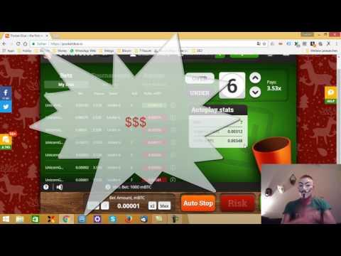 Bitcoin Vlog 4 Pocketdice Hack Jan 2017