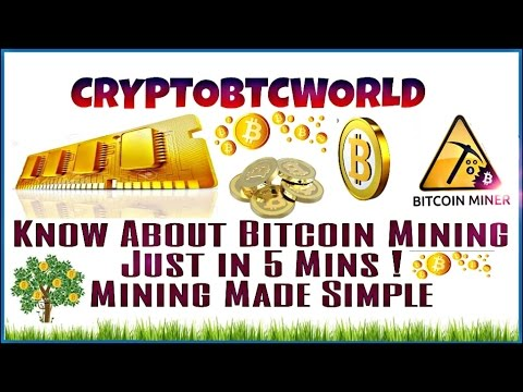 Learn about Bitcoin Mining......!