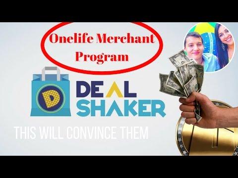 DealShaker | OneCoin Merchant Program explained