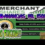 Merchant Shares en Español | Como Funciona | 2017