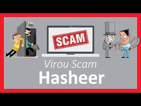 Hasheer virou scam