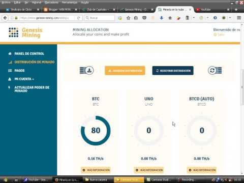 Bitcoin Genesis Mining com minero profesional - Ganar Dinero en Casa