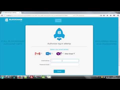 New Scam page Blockchain (Bitcoin) 2017 Smart undetected For EVER + Letter free | X-TAMPER