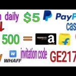Earn Free Paypal Money – Free Paypal Money App – $5 Everday Make Money App !