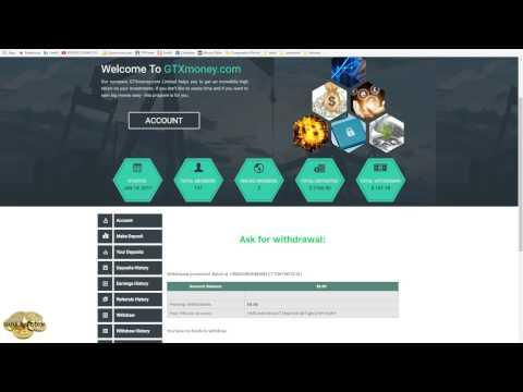 Prova de saques na Zinc7, GTXMoney e Aviso de site virou Scam