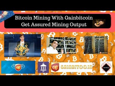 Gainbitcoin : Bitcoin Mining Simplified