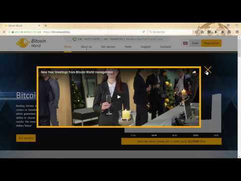 Bitcoin Mining - Bitcoinworld.biz - Video Compte 24-01-2017
