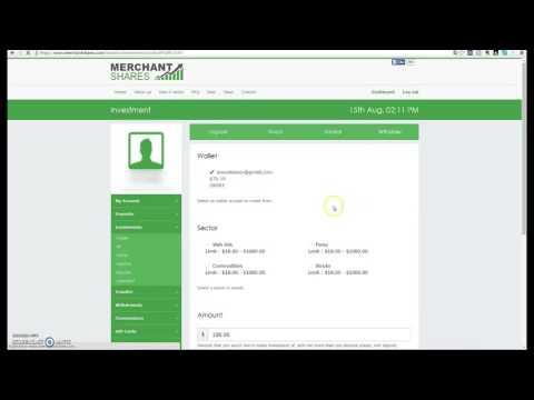 Como Retirar Beneficios En Merchant Shares