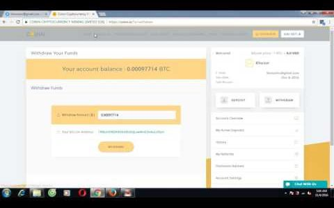 191 Earn Bitcoin every hours Withdraw 97714 satoshi bitcoin  coinn cryptocurrency mining