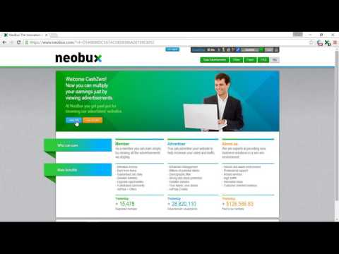 Make Money Online With Neobux! Free At Home!!! (Part 1)