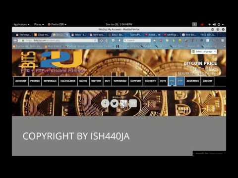 EARN BITCOIN Bits2u | 30 2UHASH BONUS + PTC + PTP + Bitcoin Cloud Mining + $1 Advertise