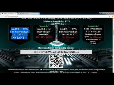 Bitcoin Multi Hack !! EARN 10 Bitcoin in just 3 Hours is SCAM  Not Paying payment with proof
