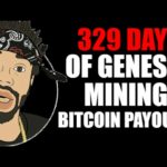 329 DAYS OF GENESIS MINING BITCOIN PAYOUTS
